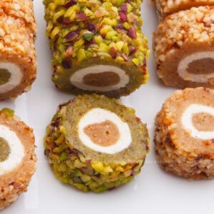 roule_pistache-pâtisserie-tunisienne-hlou