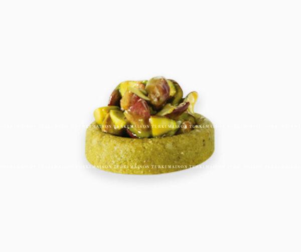 rondelle-pistache-mignardise-pâtisserie-tunisienne-hlou