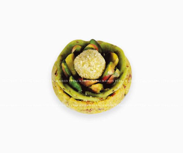 414-fleur-pistache-mignardise-pâtisserie-tunisienne-hlou