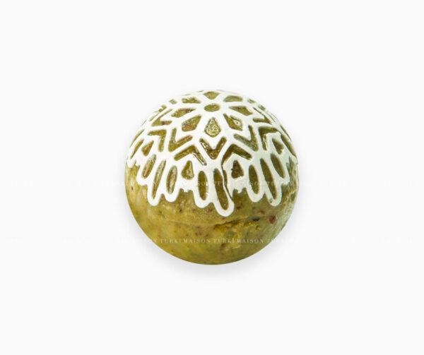 436-boule-dentel-pistache-mignardise-pâtisserie-tunisienne-hlou