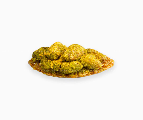 cabosse-pistache-mignardise-pâtisserie-tunisienne-hlou