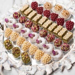 grappe-noisette-pâtisserie-tunisienne-hlou